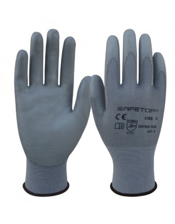 FEATHER TASK GRIS GUANTES SINTETICOS DE PU