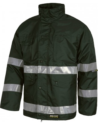 PARKA TEJIDO OXFORD CINTAS REFLECTANTES