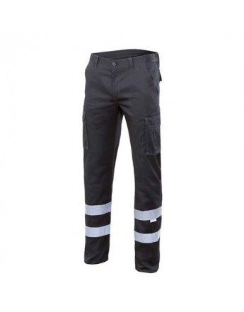 PANTALON STRETCH CON CINTAS