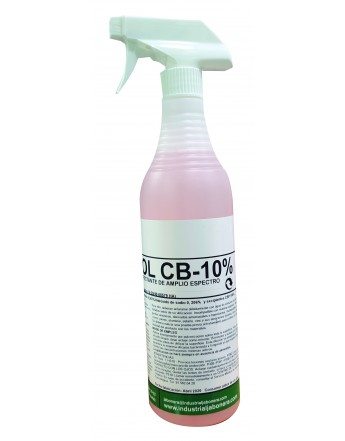 DESINFECTANTE FUNGISOL CB 10% X750 ML.