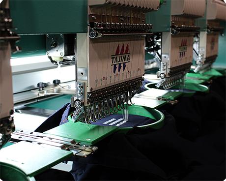 personalización de ropa laboral - Bordado