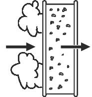 Filtro contra gases