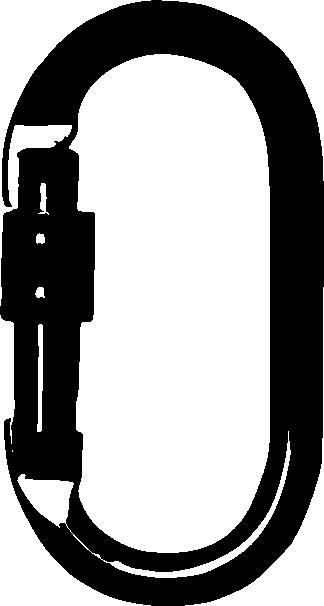 Mosquetón ovalado