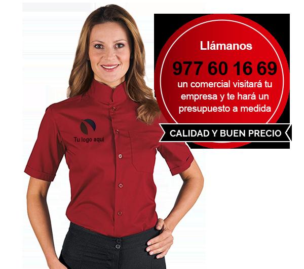 Personalización de ropa laboral con logotipo